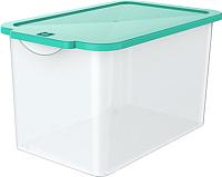 Контейнер для хранения Berossi Wow Cristal ИК 24437000 (бирюзовый) -