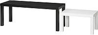 Комплект журнальных столиков Ikea Лакк 003.798.55 -