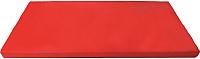 Гимнастический мат KMS sport №6 1x2x0.1м (красный) -