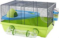 Клетка для грызунов Savic Izzy Metro (голубой/салатовый) -