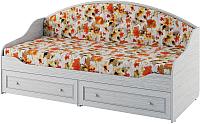 Кровать-тахта Softform Стрекоза (гасиенда/акварель 02) -