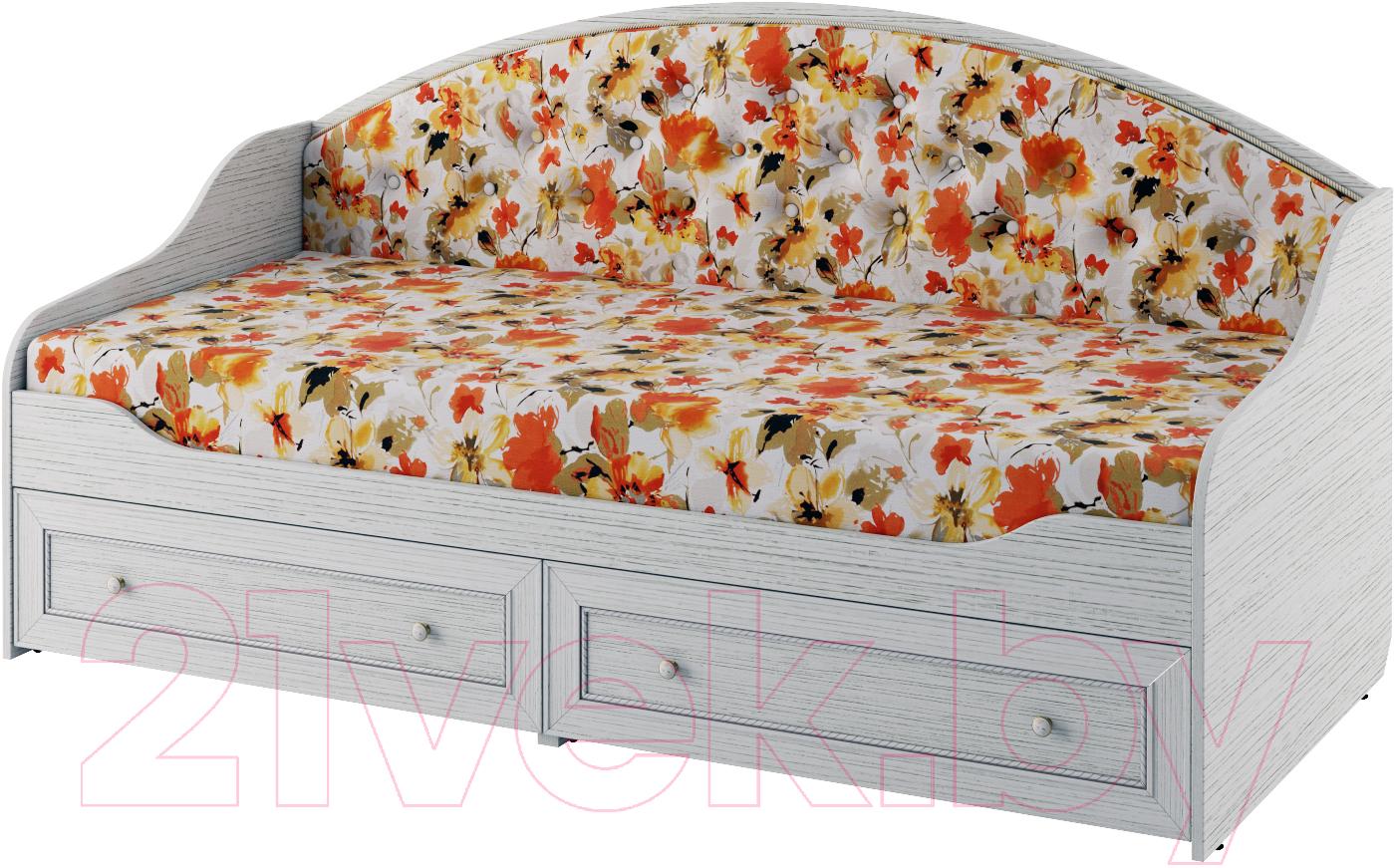 Купить Односпальная кровать Softform, Стрекоза (гасиенда/акварель 02), Беларусь