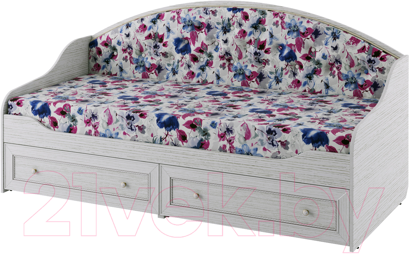 Купить Односпальная кровать Softform, Стрекоза (гасиенда/акварель 04), Беларусь