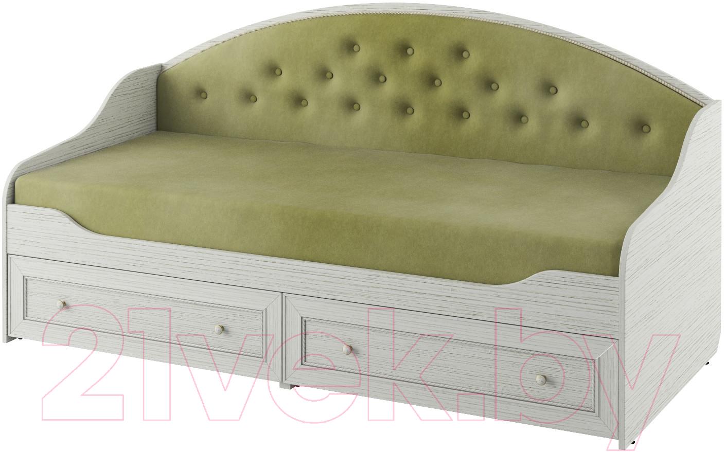 Купить Односпальная кровать Softform, Стрекоза (гасиенда/вельвет лайт 4), Беларусь