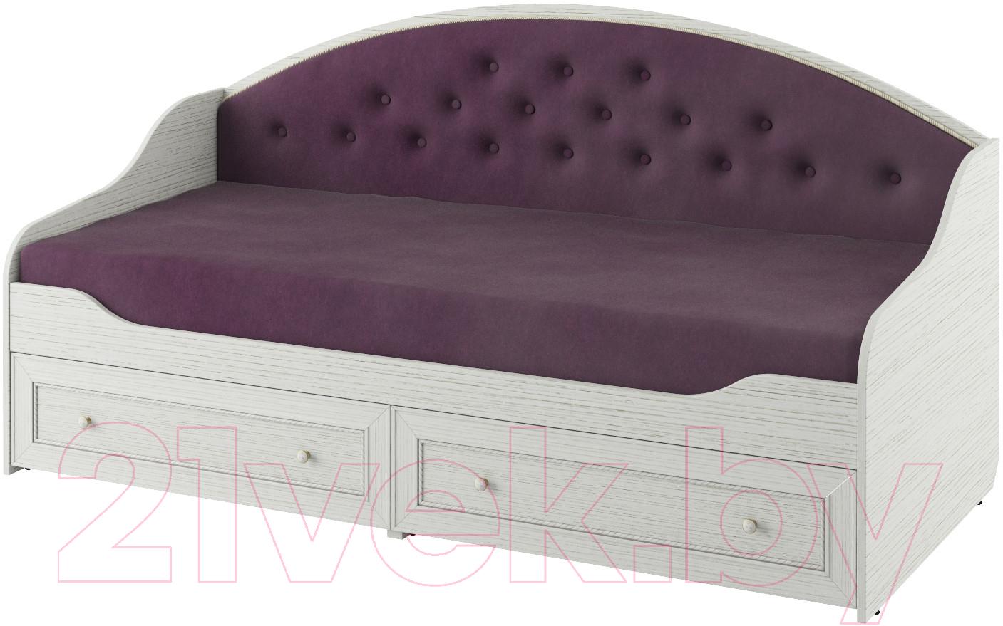 Купить Односпальная кровать Softform, Стрекоза (гасиенда/вельвет лайт 16), Беларусь