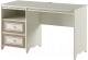 Письменный стол Softform Стрекоза (капучино/гасиенда) -