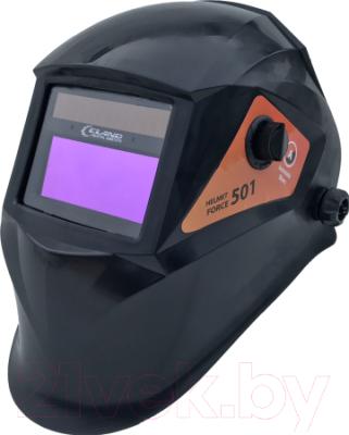 Сварочная маска Eland Helmet Force 501 (черный)