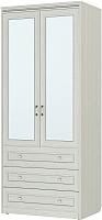 Шкаф Softform Стрекоза 2240 с зеркалом (гасиенда) -