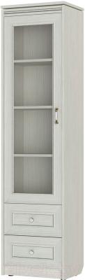 Шкаф-пенал с витриной Softform