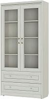 Шкаф с витриной Softform Стрекоза 1892 двухстворчатый (гасиенда) -