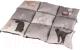 Подстилка для животных Trixie Patchwork 37074 (серый) -