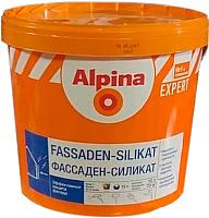 Краска Alpina Expert Fassaden-Silikat. База 1 (10л, белый) -