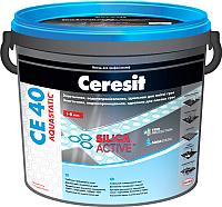 Фуга Ceresit CE 40 Aquastatic (5кг, графит) -