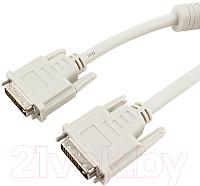 Кабель Cablexpert CC-DVI-6C (белый) -