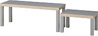Комплект журнальных столиков Ikea Лакк 403.798.77 -