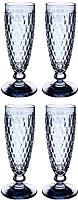 Набор бокалов Villeroy & Boch Boston Сolored / 11-7309-0071 (4шт, синий) -
