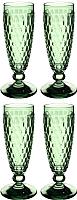 Набор бокалов Villeroy & Boch Boston Colored / 11-7309-0072 (4шт, зеленый) -