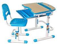 Парта+стул FunDesk Sorriso (голубой) -
