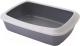 Туалет-лоток Savic Iriz 42 026300WG (серый/белый) -
