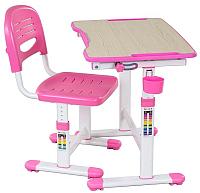 Парта+стул FunDesk Piccolino II (розовый) -