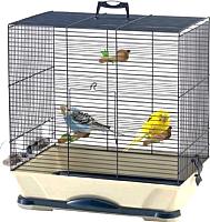 Клетка для птиц Savic Primo 30 (темно-синий/бежевый) -