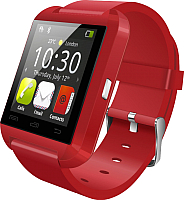 Умные часы Wise U8 (красный/красный) -