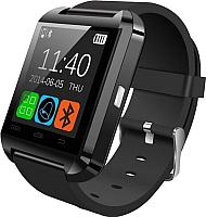 Умные часы Wise U8 (черный/черный) -