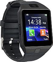 Умные часы Wise DZ09 (черный/черный) -
