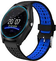 Умные часы Wise V9 (черный/синий) -