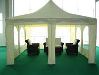Тент-шатер Sundays P44301 (4x4м, бежевый) -