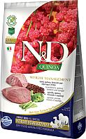 Корм для собак Farmina N&D Grain Free Quinoa Weight Manag Lamb & Broccoli (800г) -