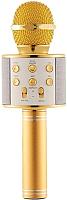 Микрофон Wise WS-858 (золото) -