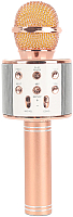 Микрофон Wise WS-858 (розовый металлик) -