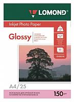 Бумага Lomond А4 150 г/кв.м. 25 л. / 0102043 (глянцевая) -