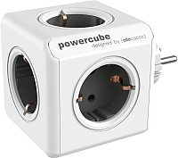 Электроразветвитель Allocacoc PowerCube Original 1100GY / DEORPC (белый/серый) -