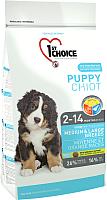 Корм для собак 1st Choice Puppy Medium & Large Breeds (2.72кг) -