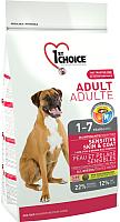 Корм для собак 1st Choice Adult Sensitive Skin&Coat All Breed Lamb, Fish&Brown (7кг) -
