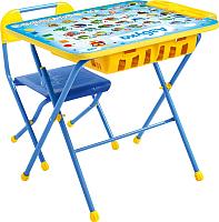 Комплект мебели с детским столом Ника КПУ2П/9 Азбука -
