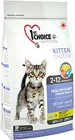 Корм для кошек 1st Choice Kitten Healthy Start Chichen (5.44кг) -