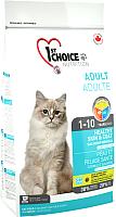 Корм для кошек 1st Choice Adult Healthy Skin & Coat Salmon (2.72кг) -