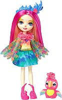 Кукла с аксессуарами Mattel Enchantimals с питомцем Пикки Какаду / FJJ21 -