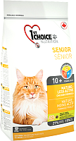 Корм для кошек 1st Choice Senior Less Active Chicken (2.72кг) -