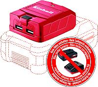 Переходник для электроинструмента Einhell TE-CP 18 Li USB-Solo (4514120) -