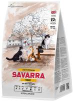 Корм для кошек Savarra Adult Light/Sterilized Tukey & Rice (0.4кг) -