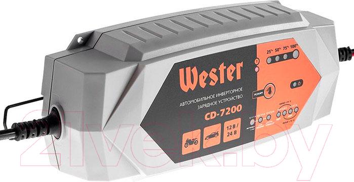 Купить Зарядное устройство для аккумулятора Wester, CD-7200, Китай