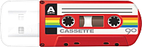 Usb flash накопитель Verbatim Mini Cassette Edition 32Gb / 49392 (красный) -