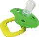 Пустышка Sun Delight Силиконовая круглая S / 31041 (желтый/зеленый) -