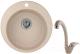 Мойка кухонная Granula GR-4801 + смеситель 40-03 (песок) -