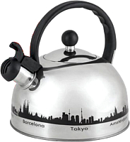 Чайник со свистком Mallony M985609 -