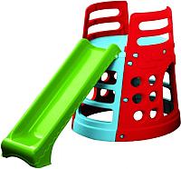 Горка PalPlay Башня 377 (голубой/зеленый/красный) -